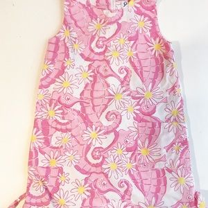 Lilly Pulitzer seahorse summer dress size 7